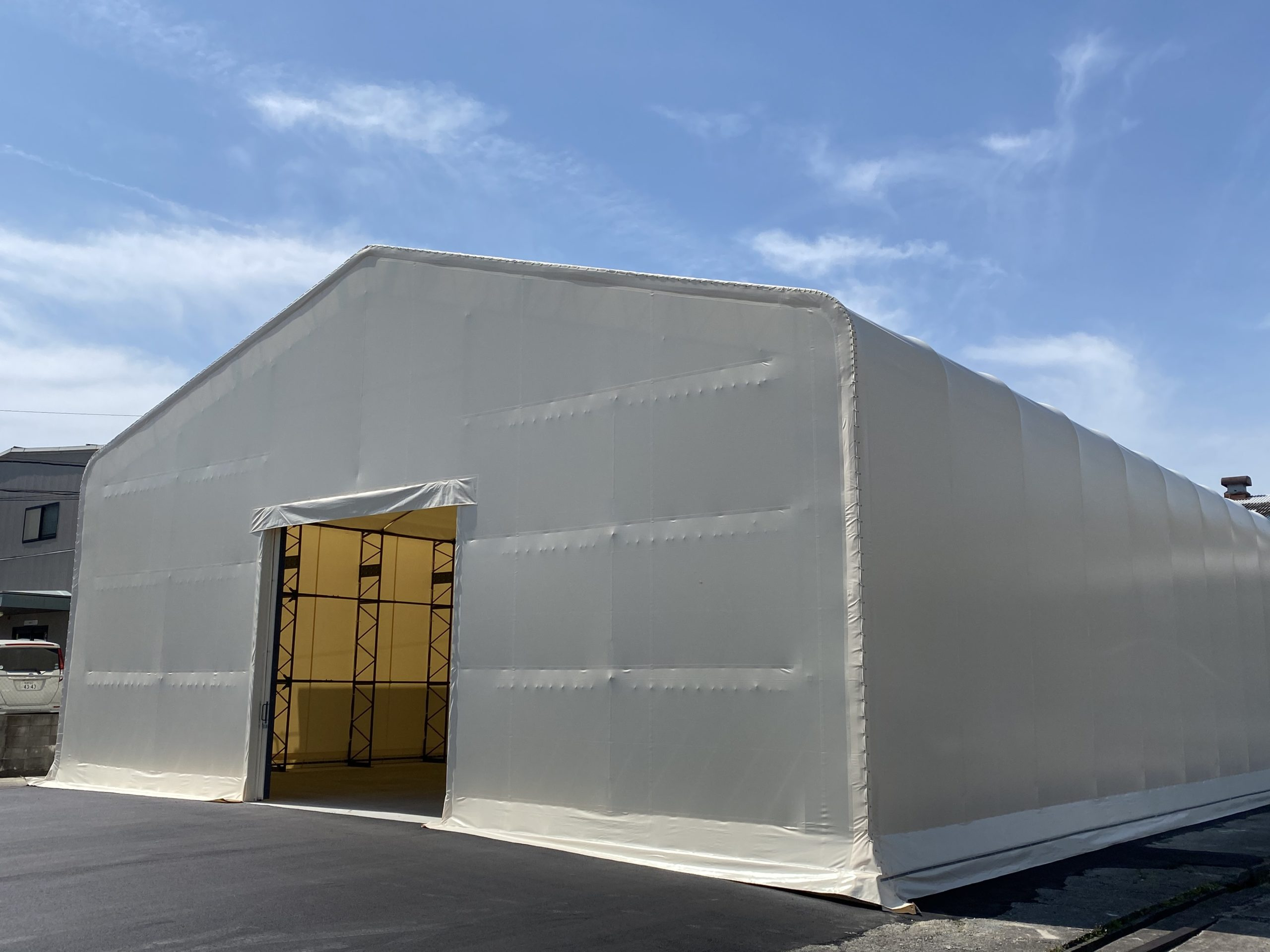 TR型テント倉庫
