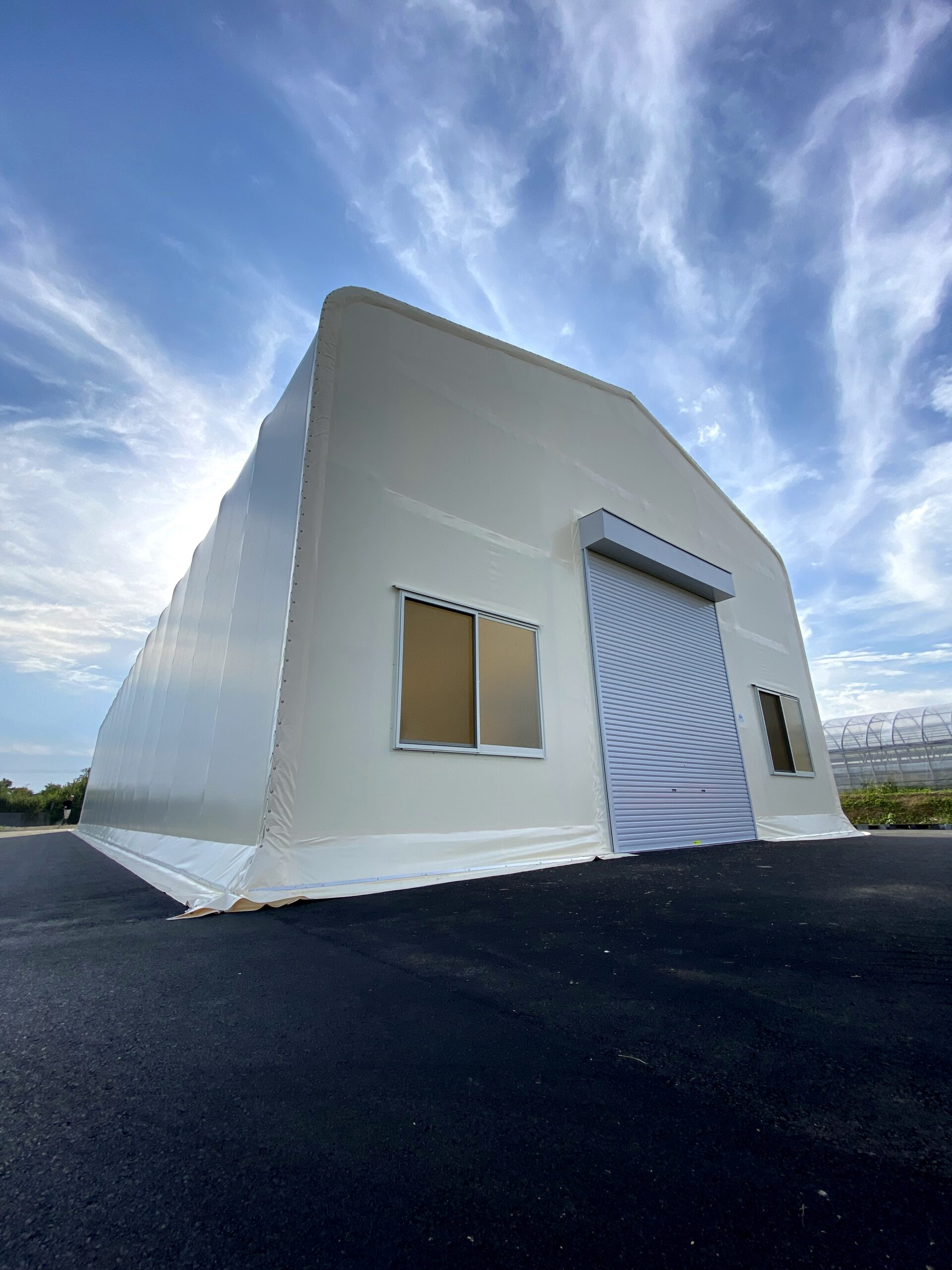 農業機械保管用テント倉庫
